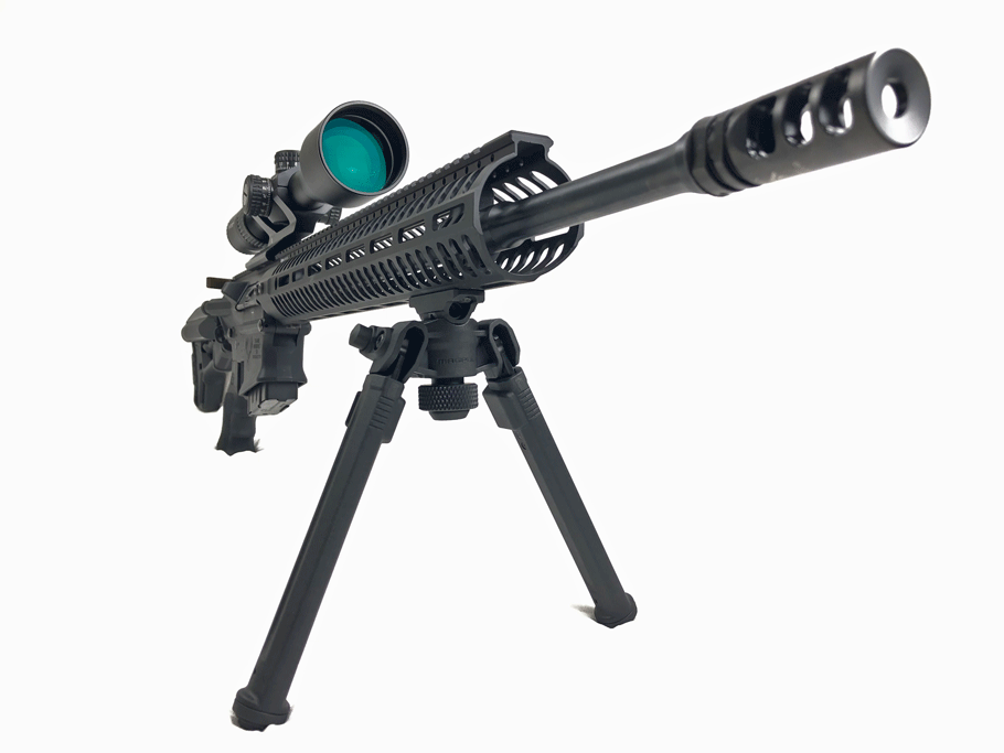 magpull bipod for m-lok installed on guns and gear guide stag 10